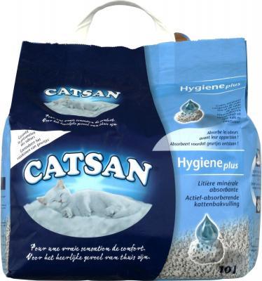 Наполнитель для туалета Catsan Hygiene plus (10л)