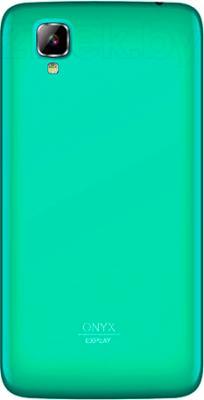 Смартфон Explay Onyx (Turquoise) - вид сзади
