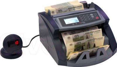 Счетчик банкнот Cassida 5550 UV - общий вид с выносным дисплеем