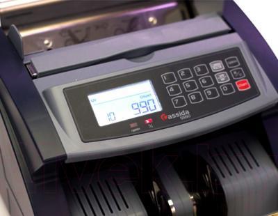 Счетчик банкнот Cassida 5550 UV - панель управления