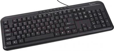 Клавиатура Gembird KB-M-101-RU (черный) - общий вид