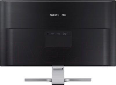Монитор Samsung U28D590D - вид сзади