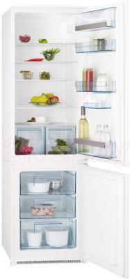 Холодильник с морозильником AEG SCS951800S - общий вид