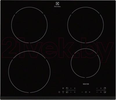 Индукционная варочная панель Electrolux EHH6340FXK - общий вид