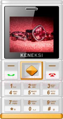 Мобильный телефон Keneksi Art (белый) - общий вид