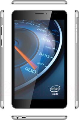 Планшет TeXet X-force 7 16GB 3G / TM-7065 (серебристый) - вид панелей корпуса