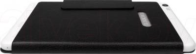 Планшет TeXet X-force 7 16GB 3G / TM-7065 (серебристый) - вид сзади в чехле
