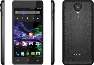 Смартфон TeXet X-slim / ТМ-4782 (черный) - обзор панелей