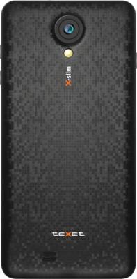 Смартфон TeXet X-slim / ТМ-4782 (черный) - вид сзади
