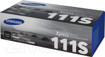 Тонер-картридж Samsung MLT-D111S (Black) - коробка