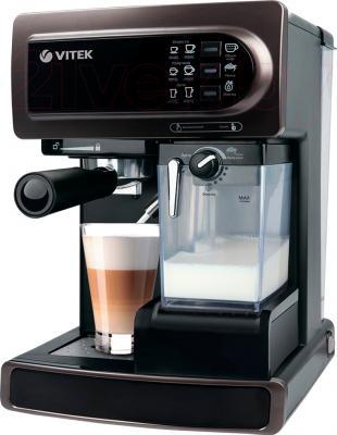 Кофеварка эспрессо Vitek VT-1517 BN - общий вид