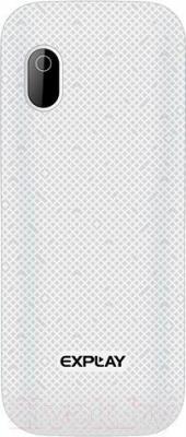 Мобильный телефон Explay A170 (белый) - вид сзади