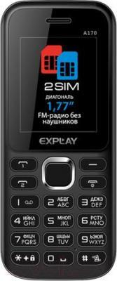 Мобильный телефон Explay A170 (белый) - общий вид