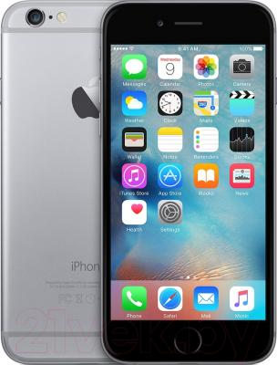 Смартфон Apple iPhone 6 (64Gb, серый космос)
