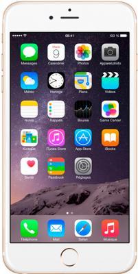 Смартфон Apple iPhone 6 Plus (16GB, золотой) - общий вид