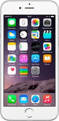 Смартфон Apple iPhone 6 Plus (64Gb, серебристый) - общий вид