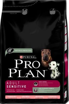 Корм для собак Pro Plan Adult Sensitive с лососем и рисом (14 кг) - общий вид