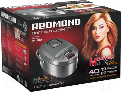 Мультиварка Redmond RMC-M4510 (серый)