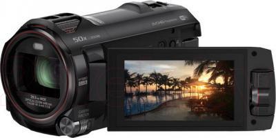 Видеокамера Panasonic HC-W850EE-K - с развернутым экраном