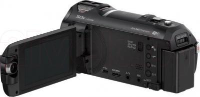 Видеокамера Panasonic HC-W850EE-K - с выдвинутым экраном