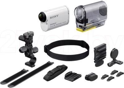 Экшн-камера Sony HDR-AS100VB (комплект BIKE) - комплектация