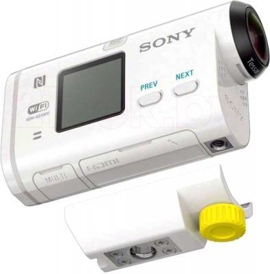 Экшн-камера Sony HDR-AS100VB (комплект BIKE) - с креплением