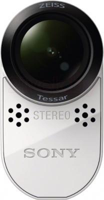 Экшн-камера Sony HDR-AS100VR (комплект Remote) - вид спереди