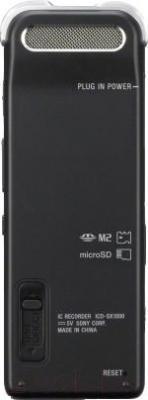 Цифровой диктофон Sony ICD-SX1000 - вид сзади