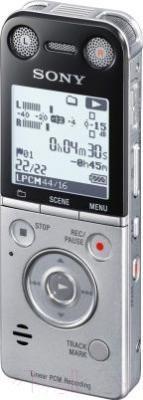Цифровой диктофон Sony ICD-SX733 - вполоборота