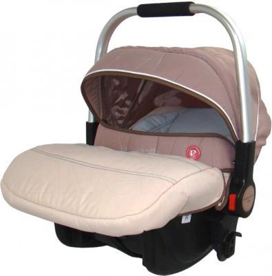 Детская универсальная коляска Pierre Cardin PS687 3 в 1 (коричневый) - автокресло