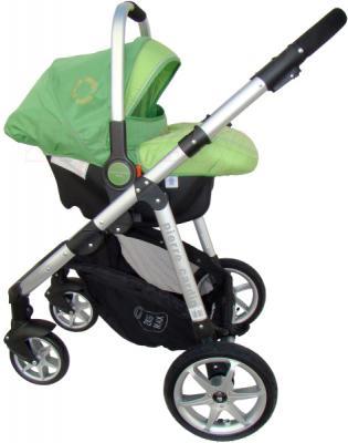 Детская универсальная коляска Pierre Cardin PS687 3 в 1 (зеленый) - с автокреслом