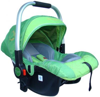 Детская универсальная коляска Pierre Cardin PS687 3 в 1 (зеленый) - автокресло