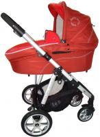 Детская универсальная коляска Pierre Cardin PS687 3 в 1 (красный) -