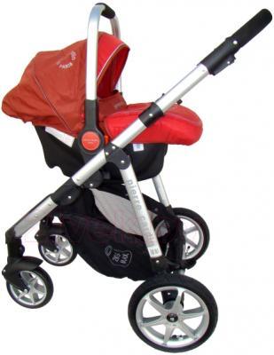 Детская универсальная коляска Pierre Cardin PS687 3 в 1 (красный) - с автокреслом
