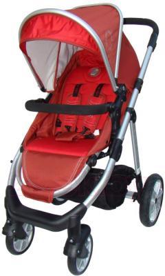 Детская универсальная коляска Pierre Cardin PS687 3 в 1 (красный) - прогулочный блок