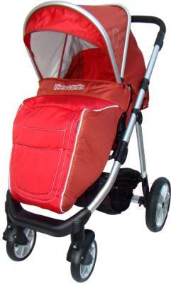 Детская универсальная коляска Pierre Cardin PS687 3 в 1 (красный) - с чехлом для ног