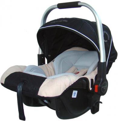 Детская универсальная коляска Pierre Cardin PS687 3 в 1 (черно-бежевый) - автокресло