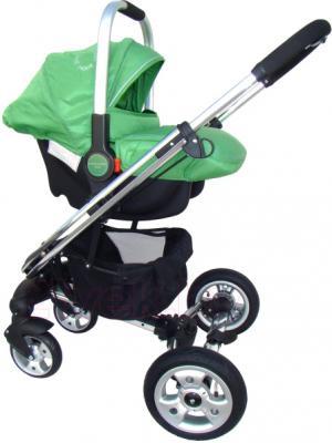 Детская универсальная коляска Pierre Cardin PS870 3 в 1 (зеленый) - с автокреслом