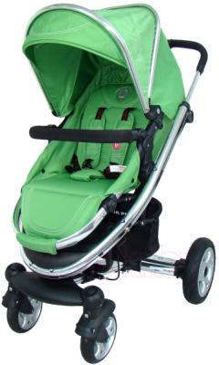Детская универсальная коляска Pierre Cardin PS870 3 в 1 (зеленый) - прогулочный блок