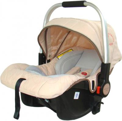 Детская универсальная коляска Pierre Cardin PS880 3 в 1 (бежевый) - автокресло