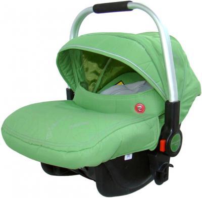 Детская универсальная коляска Pierre Cardin PS880 3 в 1 (зеленый) - автокресло с чехлом на ножки