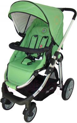 Детская универсальная коляска Pierre Cardin PS880 3 в 1 (зеленый) - прогулочный блок