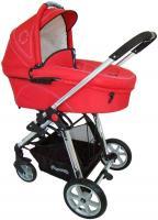 Детская универсальная коляска Pierre Cardin PS880 3 в 1 (красный) -
