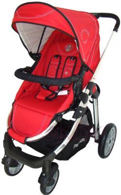 Детская универсальная коляска Pierre Cardin PS880 3 в 1 (красный) - прогулочный блок