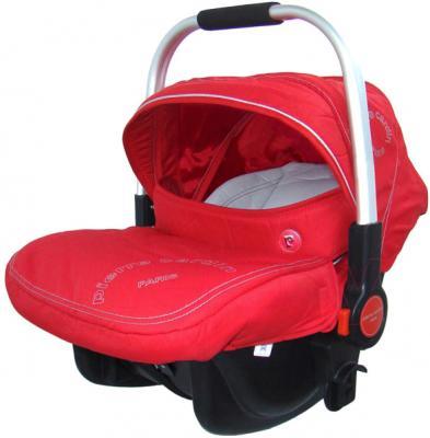 Детская универсальная коляска Pierre Cardin PS880 3 в 1 (красный) - автокресло с чехлом на ножки