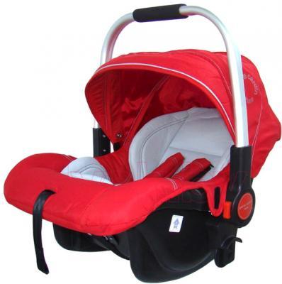 Детская универсальная коляска Pierre Cardin PS880 3 в 1 (красный) - автокресло