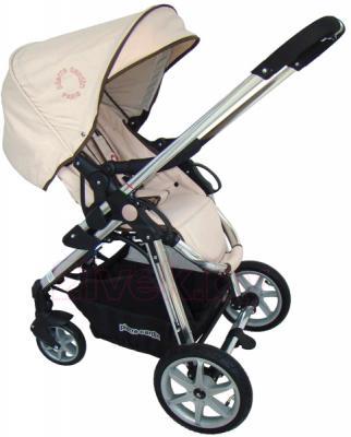 Детская универсальная коляска Pierre Cardin PS880 3 в 1 (серый) - прогулочный блок