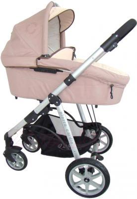 Детская универсальная коляска Pierre Cardin PS687 2 в 1 (коричневый) - люлька