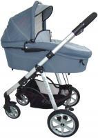 Детская универсальная коляска Pierre Cardin PS687 2 в 1 (серый) -