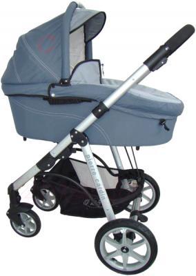 Детская универсальная коляска Pierre Cardin PS687 2 в 1 (серый) - люлька